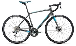 2018 Giant Contend SL 2 Disc charcoal